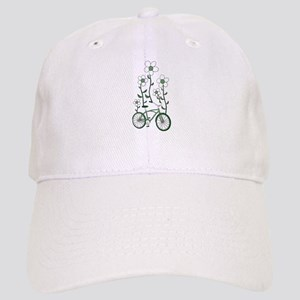 Flower Bike Cap