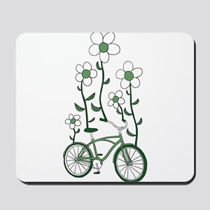 Flower Bike Mousepad