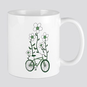 Flower Bike Mugs