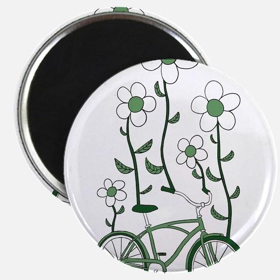 Flower Bike Magnets