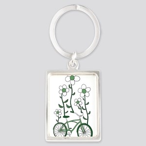 Flower Bike Keychains