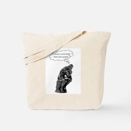 Unique Rodin Tote Bag