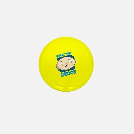 Family Guy What the Deuce Mini Button