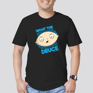 Family Guy What the De Men's Fitted T-Shirt (dark)