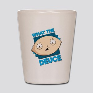Family Guy What the Deuce Shot Glass