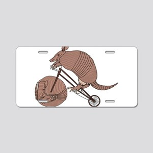 Armadillo Riding Bike With Aluminum License Plate