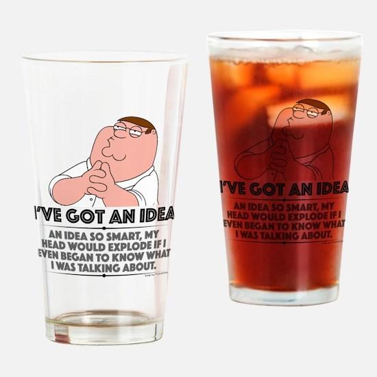 Family Guy Idea Drinking Glass