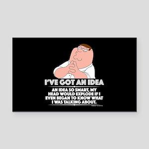 Family Guy Idea Rectangle Car Magnet