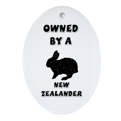 Owned by a New Zealand Keepsake (Oval)