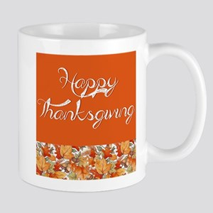 Happy Thanksgiving Mugs
