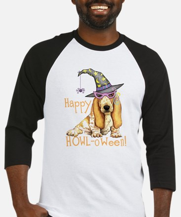basset-witch hatK Baseball Jersey