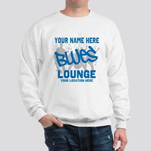 Custom Blues Lounge Sweatshirt