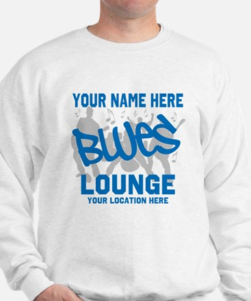 Custom Blues Lounge Sweatshirt