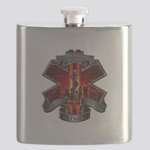 911 EMS Flask