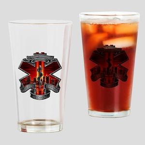 911 EMS Drinking Glass