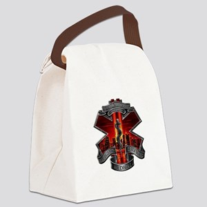 911 EMS Canvas Lunch Bag