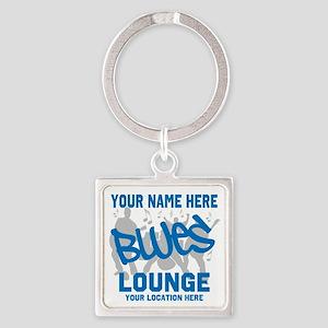 Custom Blues Lounge Keychains