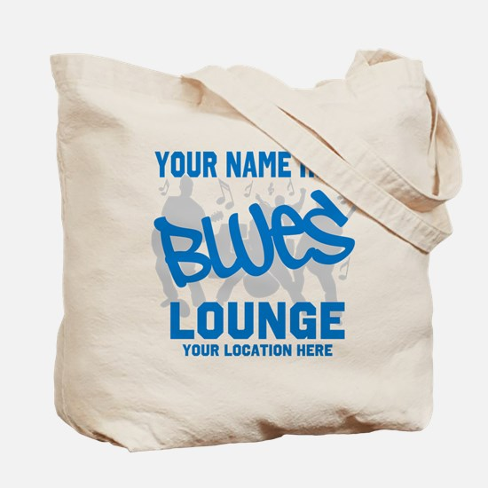 Custom Blues Lounge Tote Bag