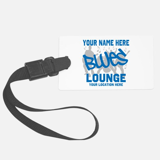 Custom Blues Lounge Luggage Tag