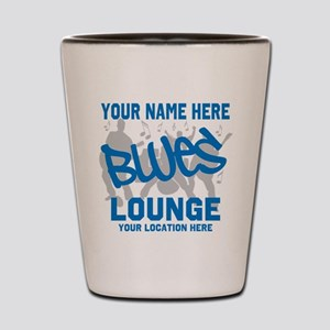 Custom Blues Lounge Shot Glass