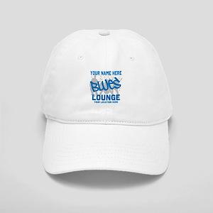 Custom Blues Lounge Baseball Cap
