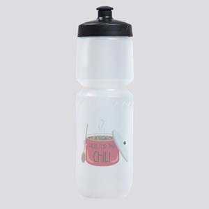 Here For Chili Sports Bottle