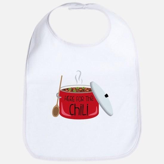 Here For Chili Bib