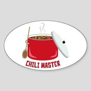 Chili Master Sticker