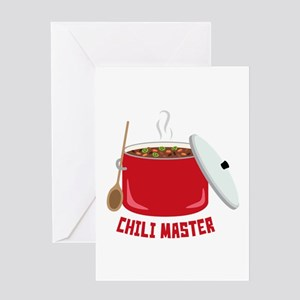 Chili Master Greeting Cards