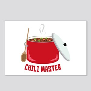Chili Master Postcards (Package of 8)