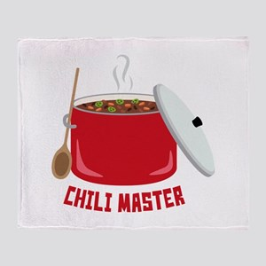 Chili Master Throw Blanket