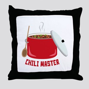 Chili Master Throw Pillow