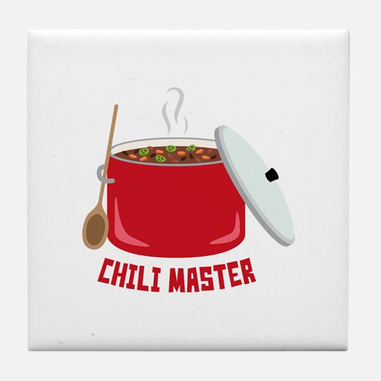 Chili Master Tile Coaster