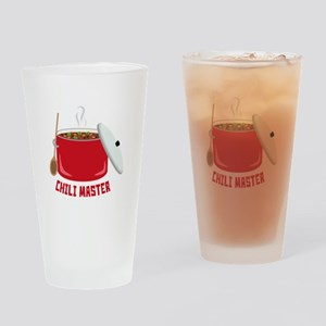 Chili Master Drinking Glass