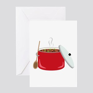 Chili Pot Greeting Cards