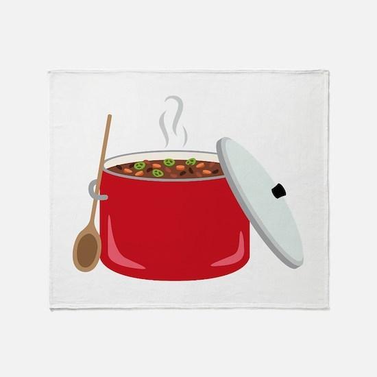Chili Pot Throw Blanket
