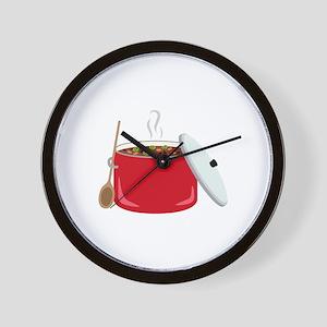Chili Pot Wall Clock