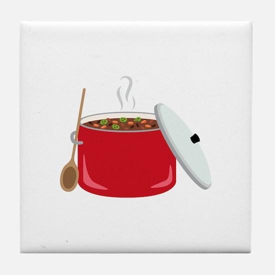 Chili Pot Tile Coaster