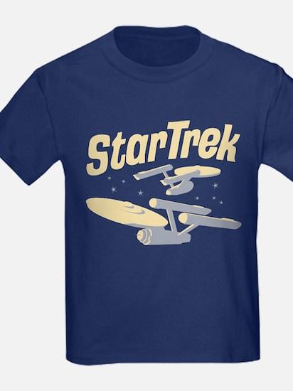 Vintage Starships Kids T-Shirt