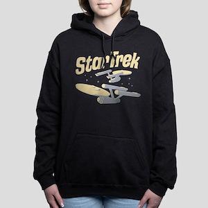 Vintage Starships Women's Hooded Sweatshirt