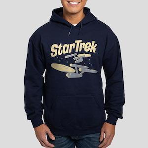 Vintage Starships Hoodie (dark)