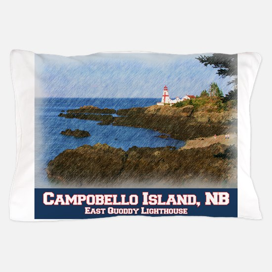 East Quoddy, Campobello Island, NB Pillow Case