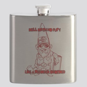 Hell Hath No Fury Like A Redneck Scorned Flask