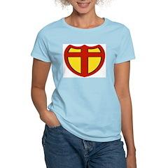 Super Christ Christian Women's Pink T-Shirt