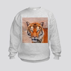 Animal ArtStudio 916b Tiger Kids Sweatshirt