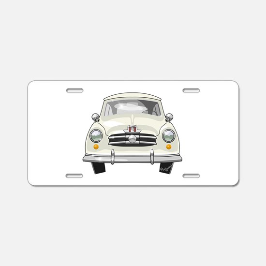 1951 Rambler Aluminum License Plate