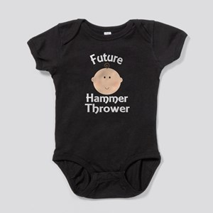 Future Hammer Thrower Baby Bodysuit
