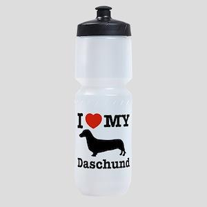 I love my Daschund Sports Bottle