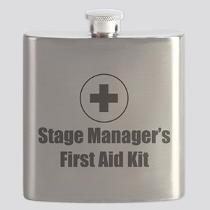 Stage Manager First Aid Kit Flask