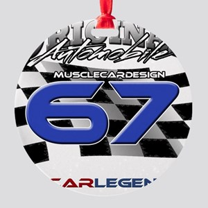 67 Musclecars Round Ornament
